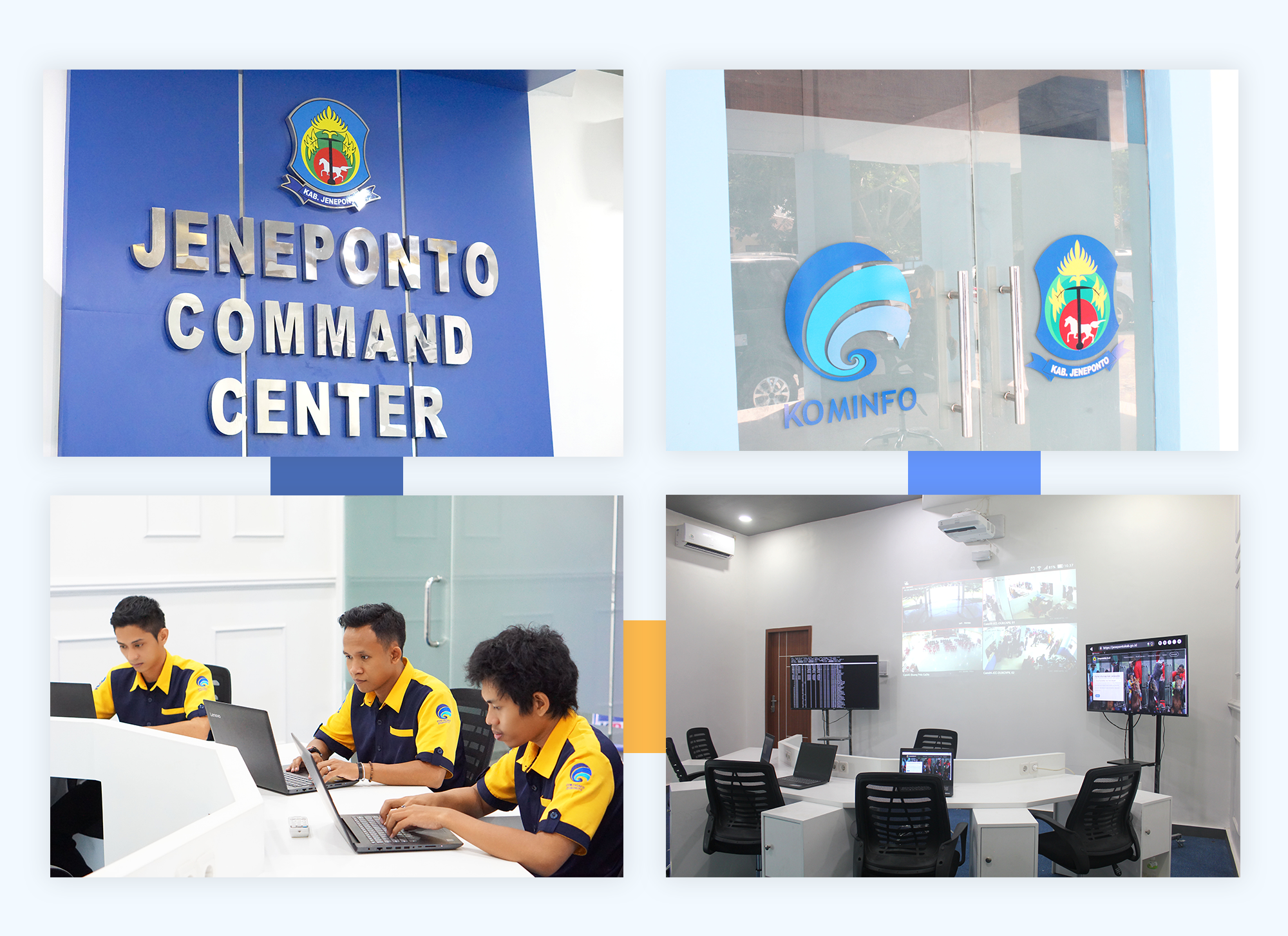 Jeneponto Command Center Jcc Web Android And Ios Mobile Developer Enterprise Software Indonesia Dtc